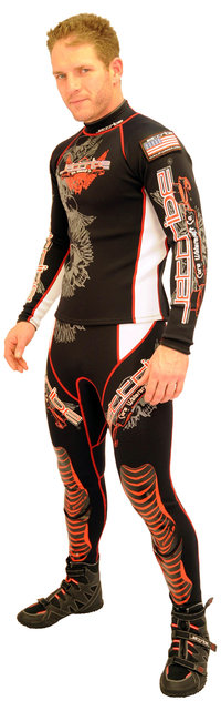 Jettribe John/Jacket Race suit