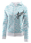 Thor Crest Zip-Up Hoody Woman