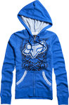 Fox Girls Contr. Clean Zip Hoody 12