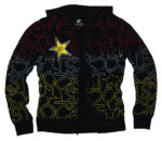 Rockstar Bright Lights Zip Hoodie