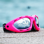 Jettribe Classic Ride Goggles pink/smoke