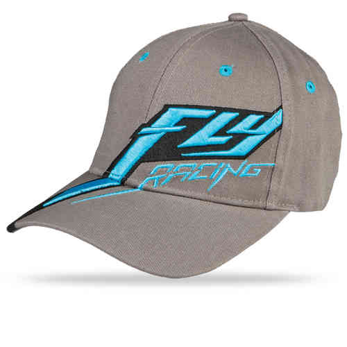 Fly Racing Flexfit Cap Flyght Grey/Blue