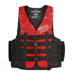 Jetpilot Strike Vest Nylon red