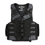 Jetpilot Strike Vest Nylon grey