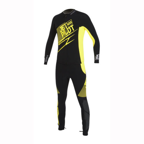 Jetpilot Matrix 3 John und Jacket, black/yellow