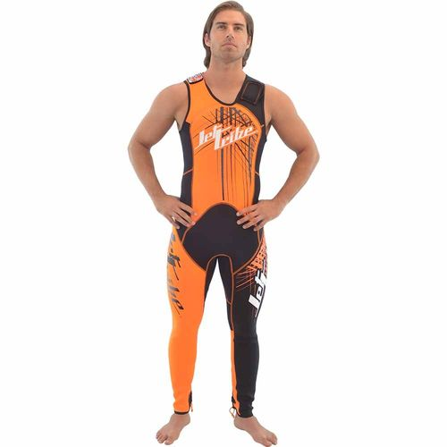 Jettribe  WETSUIT JOHN/JACKET Spike neon-orange