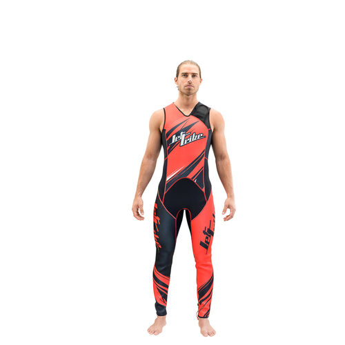 Jettribe  WETSUIT JOHN/JACKET Sharpened red