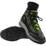 Slippery Liquid Race Boots black/lime