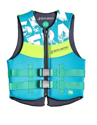 Spinera Professional Neo Vest Lime/Teal